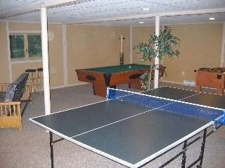 Bushkill house photo - Gameroom! Pool Table,Ping Pong,Foos Ball