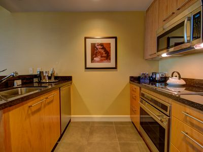 European style kitchen with appliances by Wolf