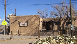 Albuquerque house photo - One of Corrales' oldest adobe buildings and still open.