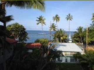 Keauhou house photo - view from house of surf break