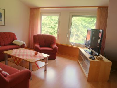 Apartment for 4 people with very large garden