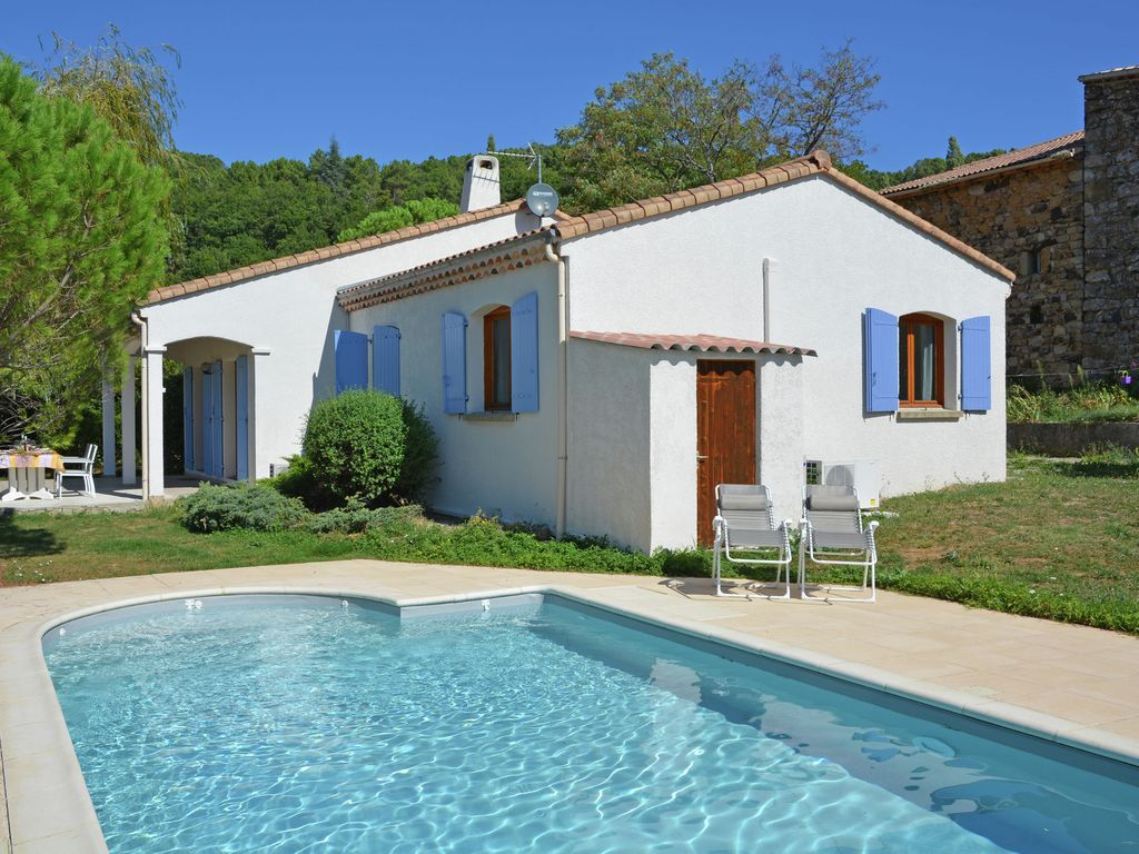 Simple air conditionn tages villa avec piscine et vue - Vacances en ardeche avec piscine ...
