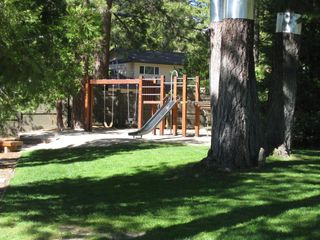 Dollar Point house photo - The kids will love the play structure next to the pool and barbecue area