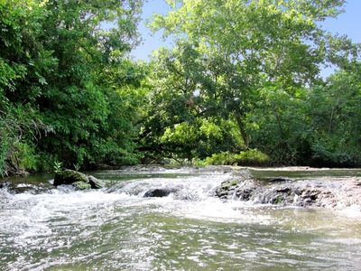Come enjoy the spring-fed waters of Sulfur Creek.