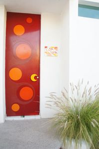 Our beautiful big red door
