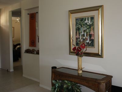 Waikoloa Beach Resort condo rental - Delightful Tropical Motiff Throught the Condo