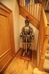Auchterarder, Gleneagles and The Ochils apartment photo - A Knight in Armour welcomes you in the Hallway!