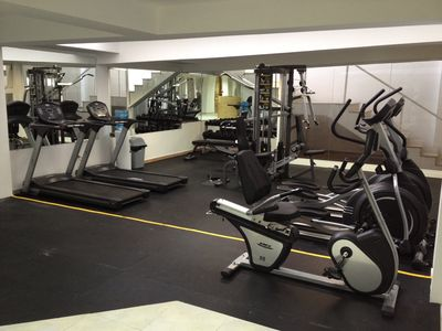 Gym is one of the many amenities at Marbella.