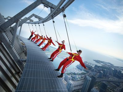 Climb the Tallest Free-Standing Structure in the Western Hemisphere, CN TOWER