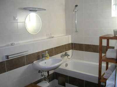 Beautifull bathrooms in all apartments