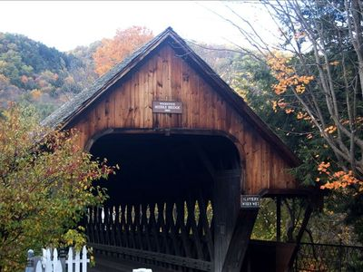 Visit one of Vermont's covered bridges