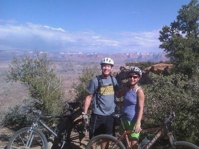.Mtn biking - 15 minutes away
