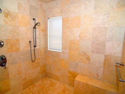 Shower in Master suite 1