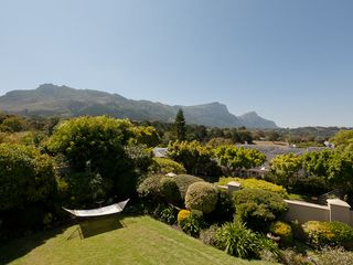 Constantia villa photo - View from Top Deck of Tranquil Garden and Table Mountain