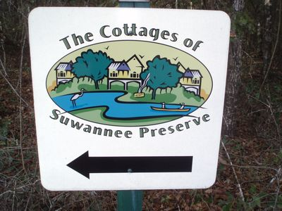 Follow the signs to the Suwannee Cottages in Bell, FL