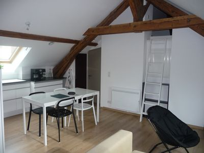 3 rooms of character in the heart of Annecy with private parking