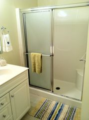 Rehoboth Beach condo photo - The large master shower and sink