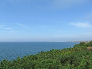 Truro house photo - Cape Cod bay view from our deck on conservation land across the street.