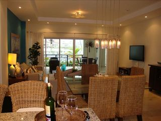 Punta Cana condo photo - Living and Dining Room 47' HDTV