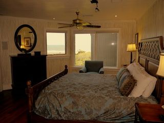 Kiawah Island villa photo - The third floor master at Double Dunes east. Custom Bath features a steam shower
