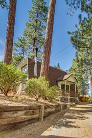 Big Bear Lake cabin rental - Street View. Cabin is recessed from already quiet cul-de-sac.