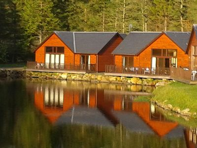 'Glengoulandie Lodges'   on the Waterfront
