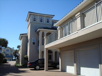 Destin house rental - Main House & Carriage House & Three Car Garage