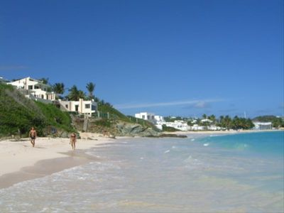 Vacation Villa right on one of the best beaches in the Caribbean: Dawn Beach