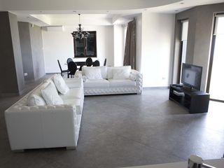 Fuscaldo villa photo - First floor living room and dining area