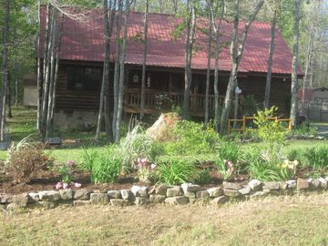 Jamestown cabin rental - Front of Property