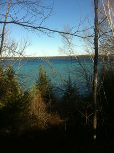Traverse City house rental - View from the top of the park ridge.