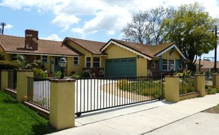 Anaheim house photo - For mom's peace of mind, the house is fully fenced and gated. So is pool fenced.