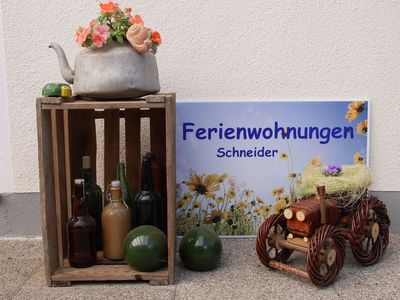 Cozy, comfortable apartments to relax in a quiet, idyllic location - FeWo Nr. 2