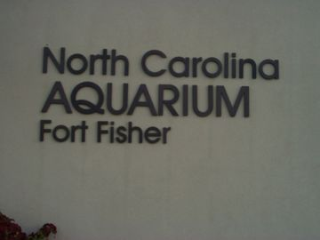 NC Acquarium is a few miles from condo