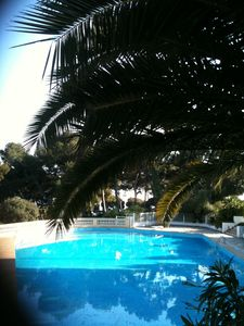 Accommodation near the beach, 80 square meters, with pool