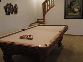 Branson cabin photo - Solid Oak Pool Table