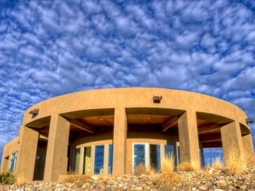 Abiquiu house rental - Stunning Views in All Directions from the Top of a Mesa Overlooking the Lake