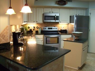 Roomy Kithcen with Stainless Steel Appliances