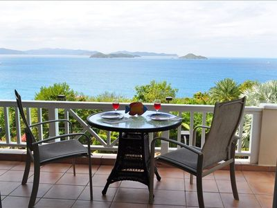 Virgin Gorda condo rental - Sail Watch Patio
