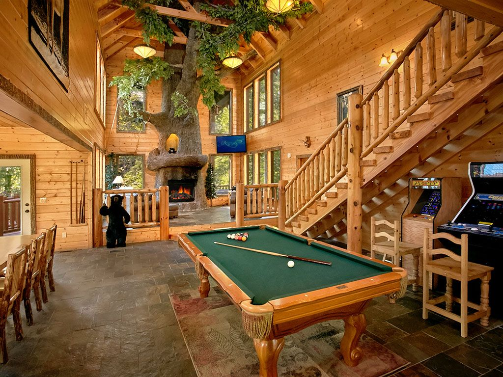 Private Indoor Pool And Stunning Giant Homeaway Gatlinburg
