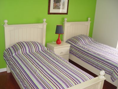 Kids Room 1 with two twin beds