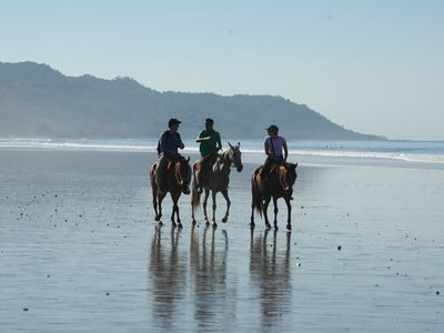Go for a horseback ride on the beach