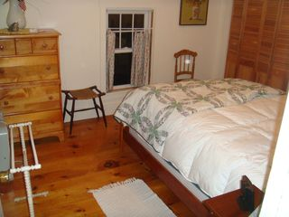 Boothbay Harbor house photo - New Cherry bed with new queen size mattress
