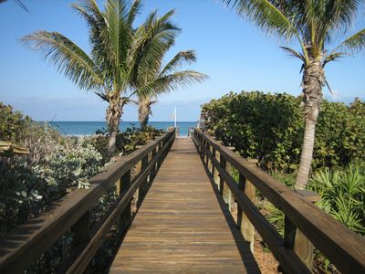 Imagine........ this boardwalk just 1 minute walk from your front door.