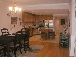 Wildwood Crest condo photo - Kitchen and dining room