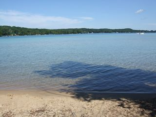 Torch Lake cottage photo - Beach sxross street
