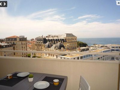 72m2 luxury apartment Biarritz beautiful sea view