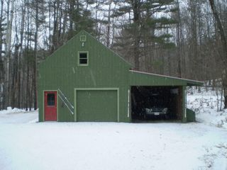 Windham chalet photo - Garage, plenty of room for 2 vehicles