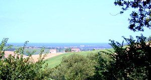 view of the sea from Borgo Vecchio