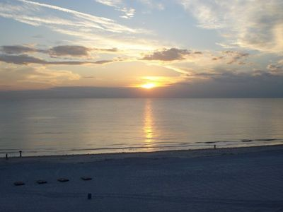 Madeira Beach condo rental - Lovely way to finish the day! Even with these sunsets, we never want it to end!